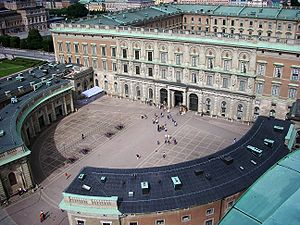 The Square (2017 film) - The gallery in the film is based on Sweden's Stockholm Palace.
