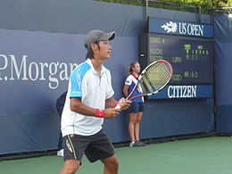 Yuichi Sugita at the 2010 US Open 03.jpg