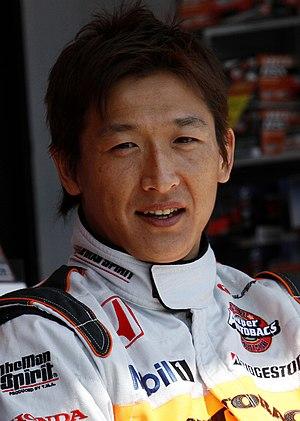 Yuji Ide - Image: Yuji Ide 2010 Super GT Fuji 400km