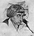 Yuri Annenkov - Portrait of N.Evreinov (1915).jpg