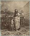 Zangaki, Femme égyptienne 1890-1900 - photo de studio.jpg