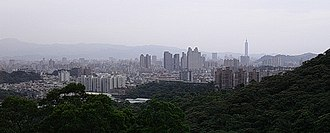 Zhonghe District - Zhonghe District, with Taipei 101 in the background