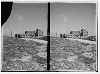 Zionist activities in Palestine. The Hebrew University Library. From Olivet road. LOC matpc.02650.jpg