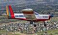 Zlin Z-142 in flight over the Russian countryside.jpg