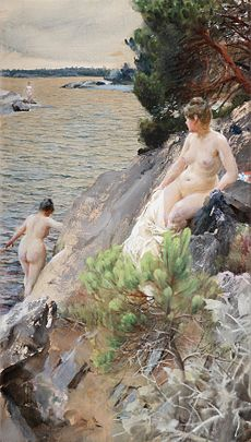 ZORN Anders Summer 1887