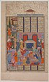 """Birth of Rustam"", Folio from a Shahnama (Book of Kings) MET sf65-7-1r.jpg"