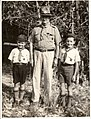 """Pop"" W.R.Johnstone with two Cub scouts.jpg"