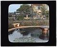 """Près Choisis,"" Albert Herter house, Georgica Pond, East Hampton, New York. Fountain in orange and yellow garden LCCN2008675634.jpg"