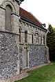 'Berfrestone' (DB) St Nicholas chancel from southwest Barfrestone Kent England.jpg