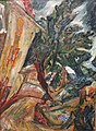 'Landscape with Figures-Céret' by Chaïm Soutine, 1922, High Museum of Art.JPG