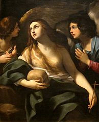 Mary Magdalene Between Two Angels