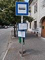 'Pápa, kórház' bus stop, 2020 Pápa.jpg