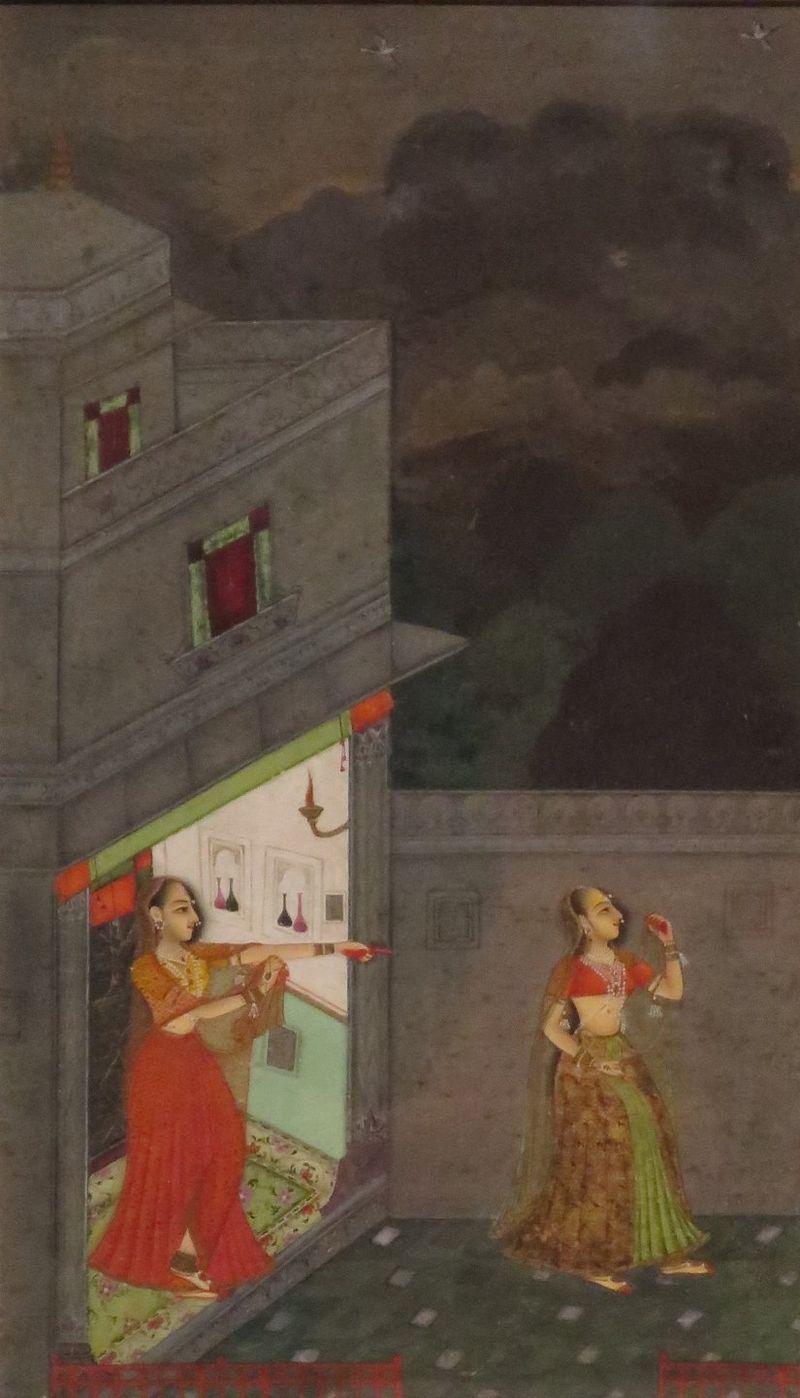 'Virahini' (Lovesick Heroine), India, c. 1740, Honolulu Museum of Art, 10689.1.JPG