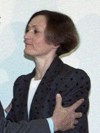 (Pilar Miró) Rosa Conde en la toma de posesión del director general de TVE. Pool Moncloa. 17 de enero de 1989 (cropped).jpeg