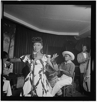 Josephine Premice - Image: (Portrait of Josephine Premice, Village Vanguard, New York, N.Y., ca. July 1947) (LOC) (5436422514)