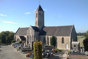 L'église Saint-Vincent.