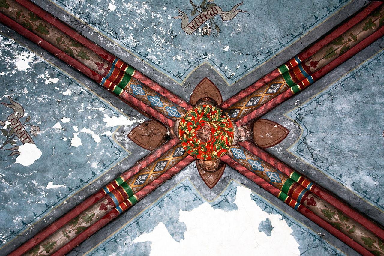 Fichier glise de saint pierre le mo tier peintures for Les differents types de peintures murales