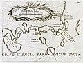 Χάρτης της ακτής της Αττικής και των νησιών του Αργοσαρωνικού - Coronelli Vincenzo Maria - 1708.jpg