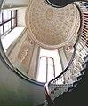Агатовые комнаты - лестница и площадка второго этажа - вход в личные покои Екатерины II 01.jpg