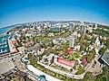 Аэрофотоснимок Центрального района г. Сочи в районе маяка.jpg