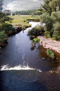 Velyka Vys river in Ukraine