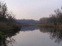Вид на Чугуївське городище...JPG
