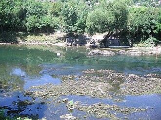 Vrbas (river) - Image: Врбас у Шехеру