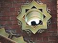Голубиное гнездо в элементе ворот. Билярск. Татария. Май 2013 - panoramio.jpg