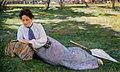 Женщина, читающая в саду (Портрет Жюстины, жены художника).jpeg