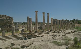 Magnesia on the Maeander ancient Greek city in Ionia, modern Turkey