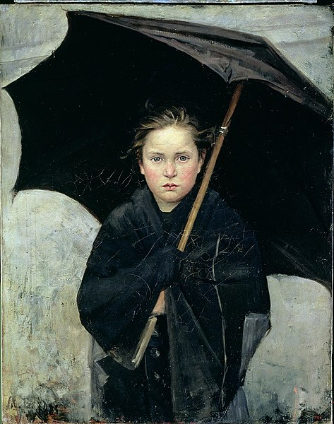 BASHKIRTSEFF Marie The Umbrella 1883