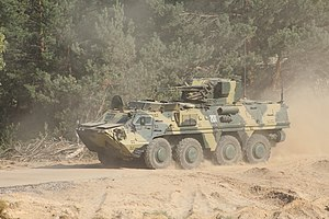 Ukrainian Air Assault Forces - BTR-4