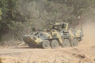 Ukrainian Air Assault Forces - BTR-4