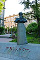 Пам'ятник Махтумкулі, Київ Прорізна вул., 3.JPG