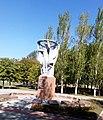 Пам'ятник воїнам-односельчанам. Селище Старий Крим Донецької області.jpg