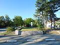 """Площадът пред църквата """"Успение Богородично"""", където са били сградите на Узунджовския панаир 5.JPG"""