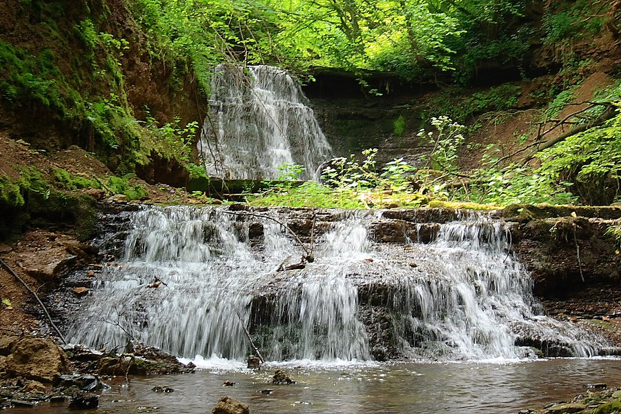 Rusyliv Falls