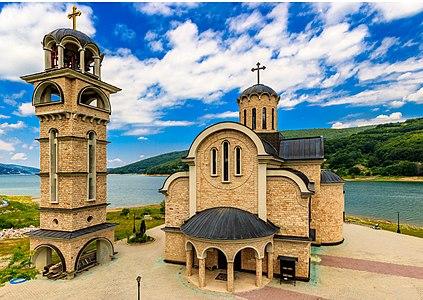 St. Nicholas Church in Mavrovo, Macedonia