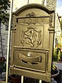 אריה על תיבת דואר בירושלים (3856641053).jpg