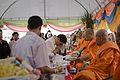 นายกรัฐมนตรี เป็นประธานพิธีเททองหล่อพระประธานเพื่อประด - Flickr - Abhisit Vejjajiva (5).jpg