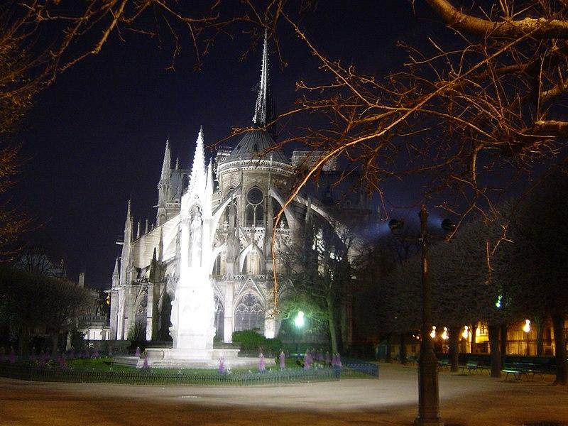 ファイル:パリノートルダム大聖堂.JPG