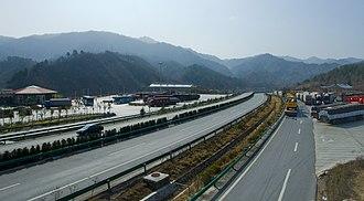 Shaannan - Expressway in Ningshan