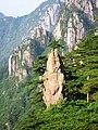 安徽 黄山 - 是如来神掌还是像只被钓起的鱼?...... 都不是,这个是梦笔生花 -D - panoramio.jpg