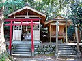東吉野村中黒 厳島神社 Itsukushima-jinja, Nakaguro 2011.2.22 - panoramio.jpg