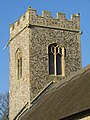 -2020-02-07 Bell tower of Saint Nicholas Church, Trunch Road, Swafield.JPG