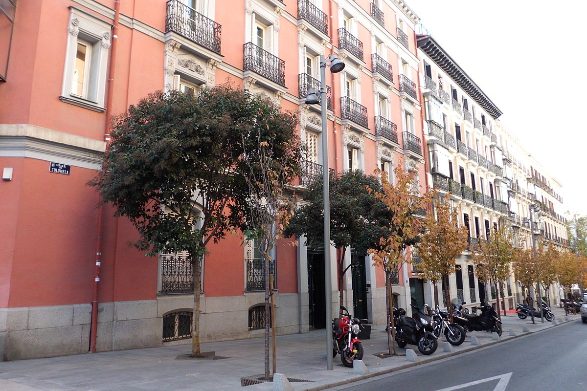 Calle de columela wikipedia la enciclopedia libre for Calle jardines madrid