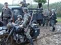 022 Reenactment of Battle in 1944 at Pielnica valley (Nowosielce, Sanok County).jpg