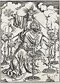 03. Albrecht Dürer, Apokalypsa, I. Vidění sedmi svícnů, Národní galerie v Praze.jpg