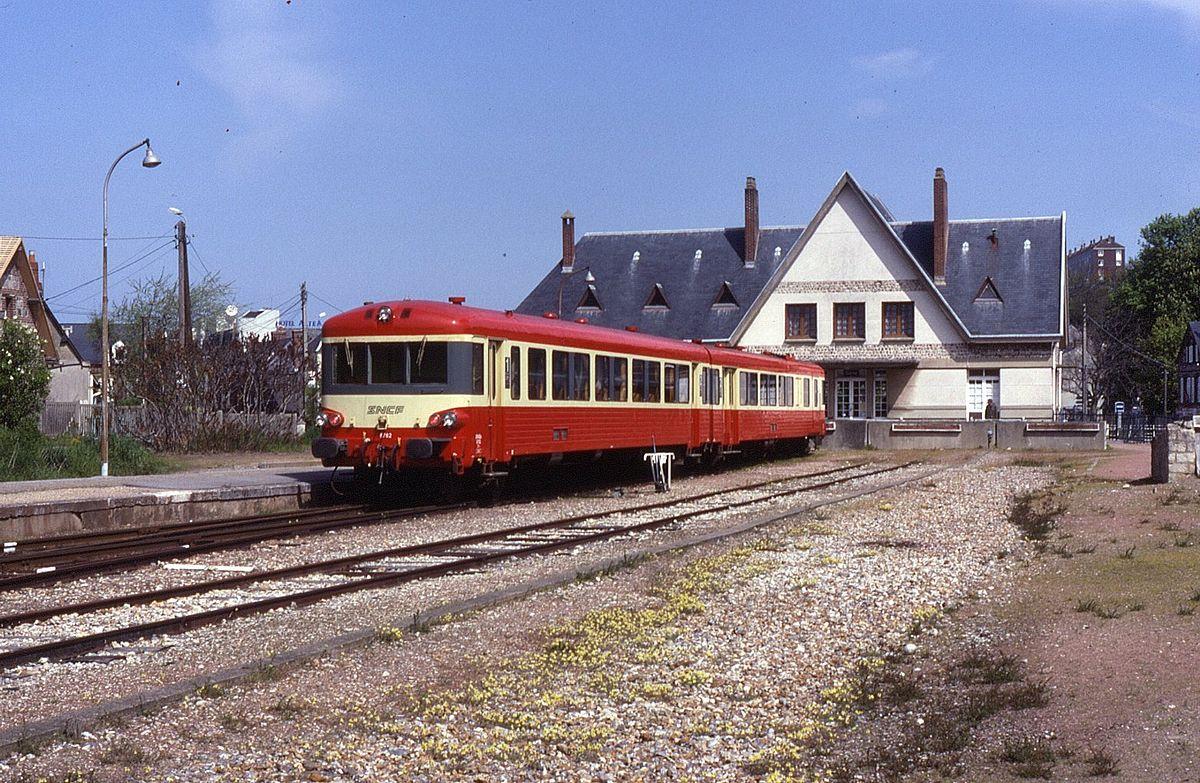 Gare de saint valery en caux wikip dia - Piscine st valery en caux ...