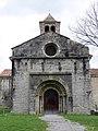 082 Sant Pere de Camprodon, façana oest.JPG